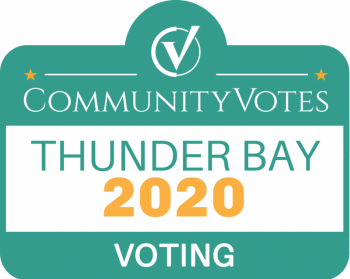 Vote for us at Thunder Bay's Community Votes Page!
